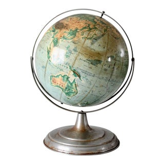 1960s World Globe For Sale