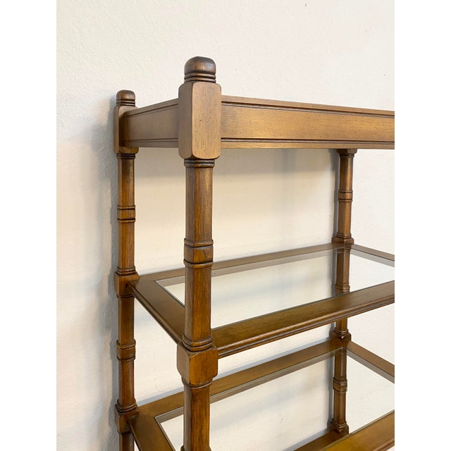 1950s Mid Century Modern Etageres Bookcases - a Pair For Sale - Image 4 of 6