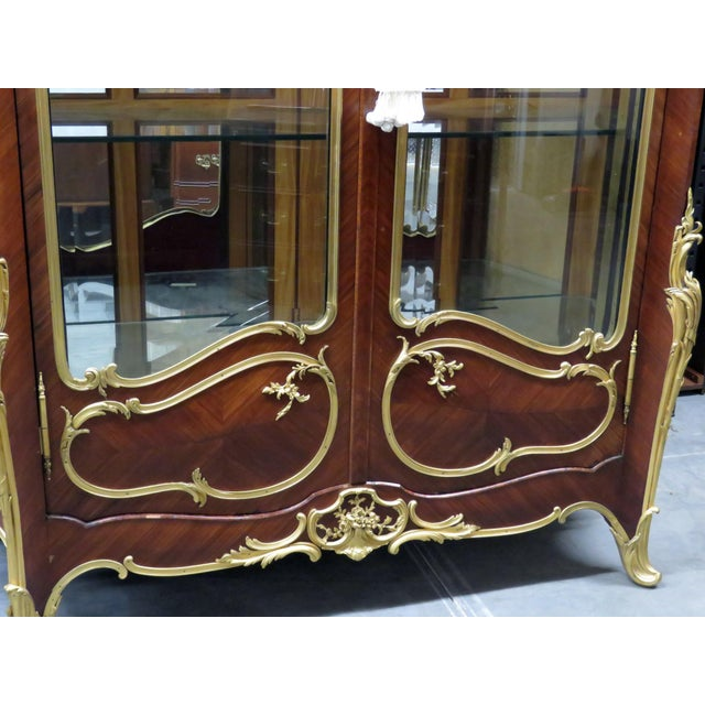 Louis XV Signed Francois Linke Louis XV Cabinet For Sale - Image 3 of 12