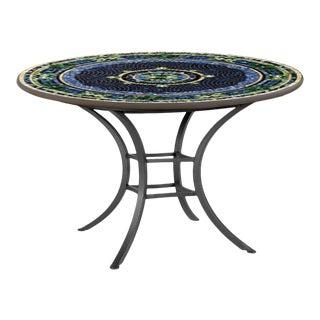 "Lake Como 42"" Bistro Table with Black Base For Sale"