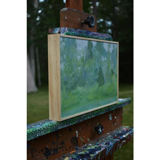 """2010s Stephen Remick, """"Misty Morning"""", Contemporary Plein Air Painting For Sale - Image 5 of 8"""