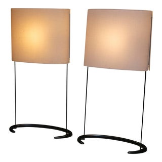 "Pair of ""Gala"" Table Lamps by Paolo Rizzatto for Arteluce For Sale"