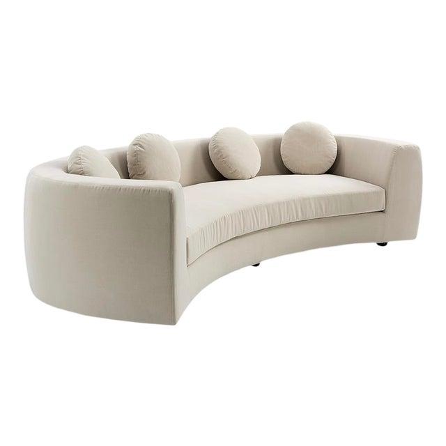 Vesta Maxine Rounded Sofa For Sale