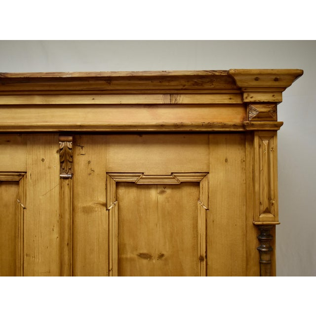 Pine Two Door Armoire For Sale In Washington DC - Image 6 of 13