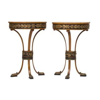 18th Century Fruitwood Italian Consoles - A Pair