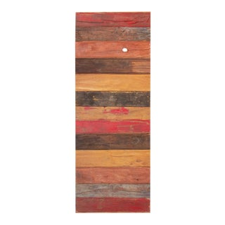 Multicolor Reclaimed Stripe Door For Sale