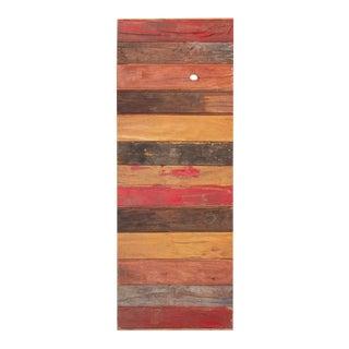 Multicolor Reclaimed Stripe Door For Sale