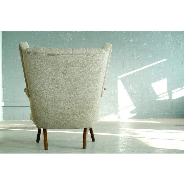 Sven Skipper 1960s Papa Bear Chair Model 91 in the Style of Hans Wegner For Sale - Image 9 of 11