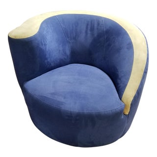 Beautiful Vladimir Kagan Swivel for Weiman For Sale