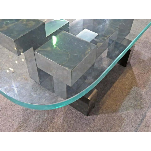Paul Evans Paul Evans Style Coffee Table For Sale - Image 4 of 6
