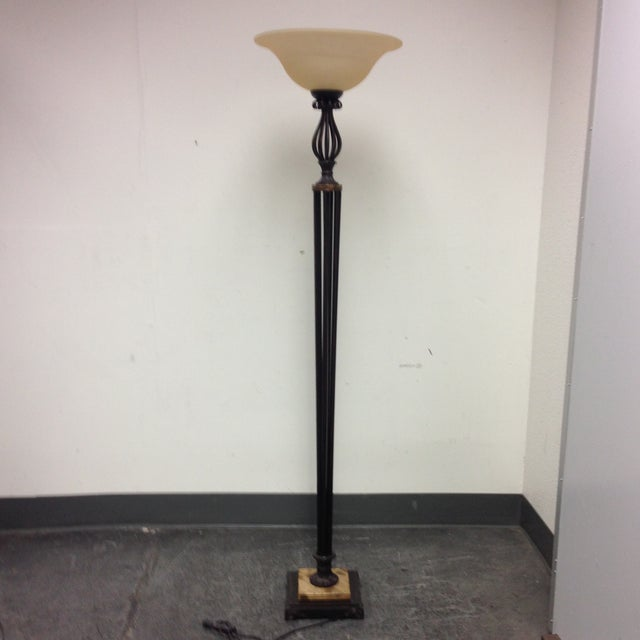Torchiere Floor Lamp - Image 2 of 7