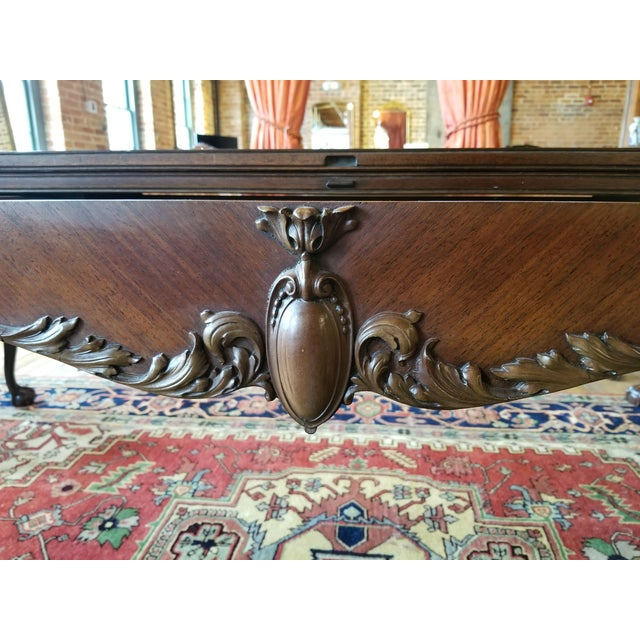 Brown Early 20th Century Leonardo LIV-Dine Table From Waldorf Astoria For Sale - Image 8 of 13