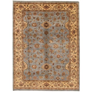 """Contemporary Indian Tabriz Rug, 10'0"""" X 14'0 For Sale"""