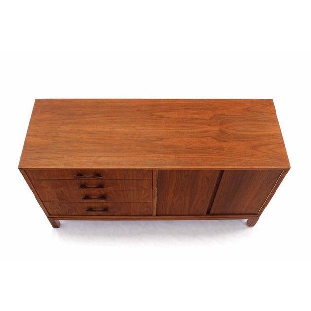 Mid-Century Modern Mid-Century Modern Walnut Sideboard For Sale - Image 3 of 6