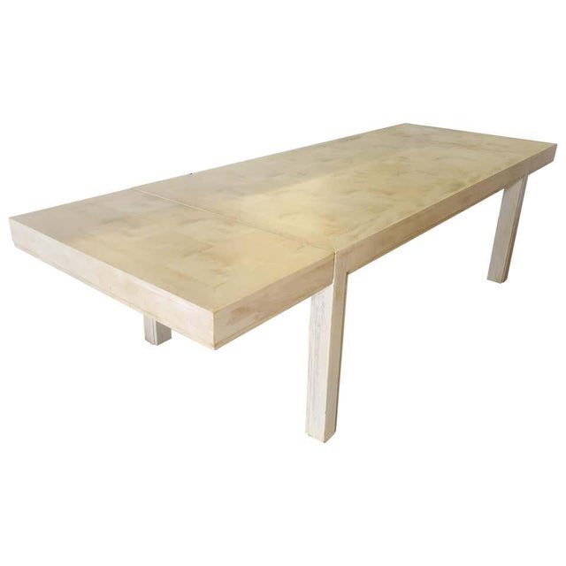 Mid 20th Century Restored Parsons Dining Table For Sale - Image 11 of 12