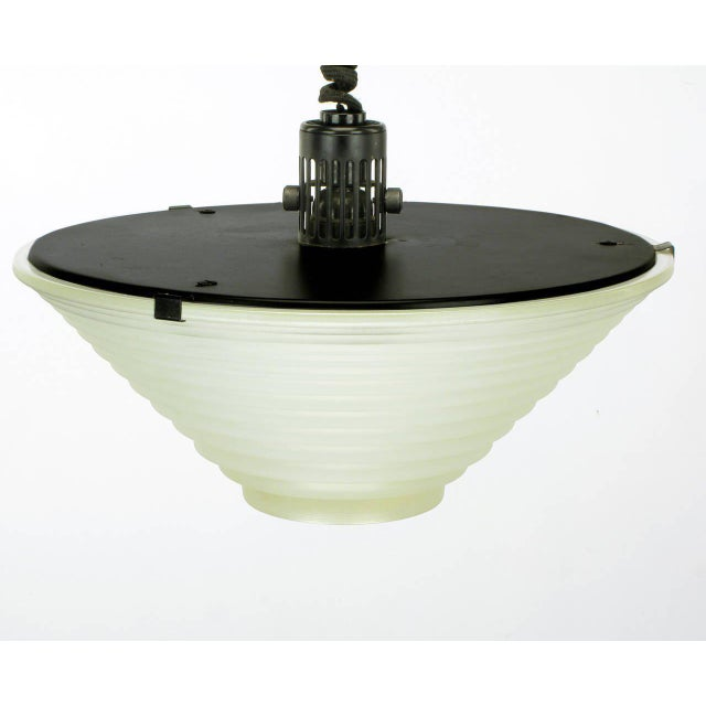 "1979 Vintage Angelo Mangiarotti for Artemide Italia ""Egina"" Pendant For Sale - Image 5 of 6"