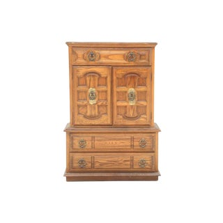 Neoclassical Style Chest on Chest Dresser For Sale