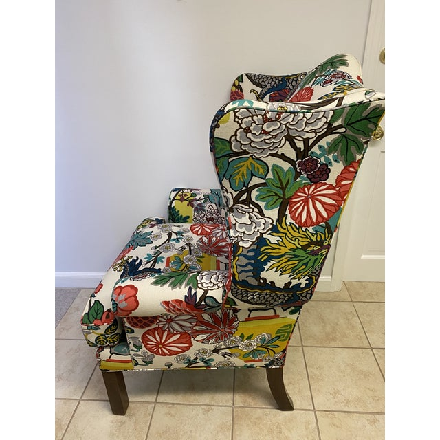 Green Mai Dragon Club Chair For Sale - Image 8 of 11