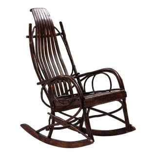 Early 20th-Century Adirondack Childs Rocker For Sale