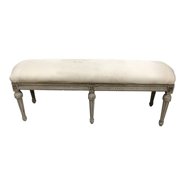 Vintage Country French Bench For Sale