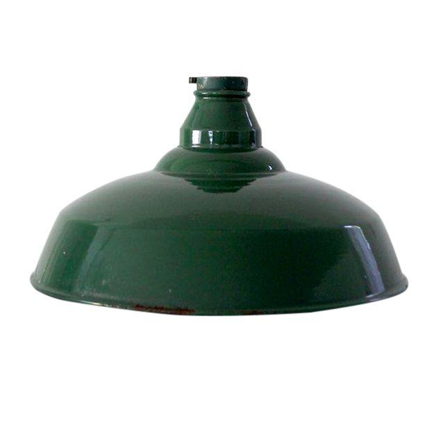 1930s Industrial Warehouse Pendant Light Shade Chairish