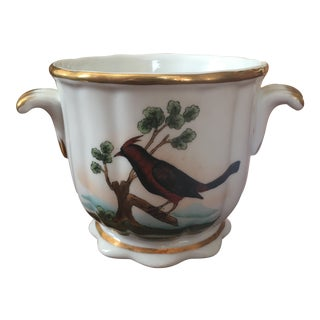 1980s Vintage Chelsea House Bird Cachepot For Sale