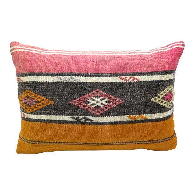 Turkish Kilim Pillow Cover - Image 1 of 3
