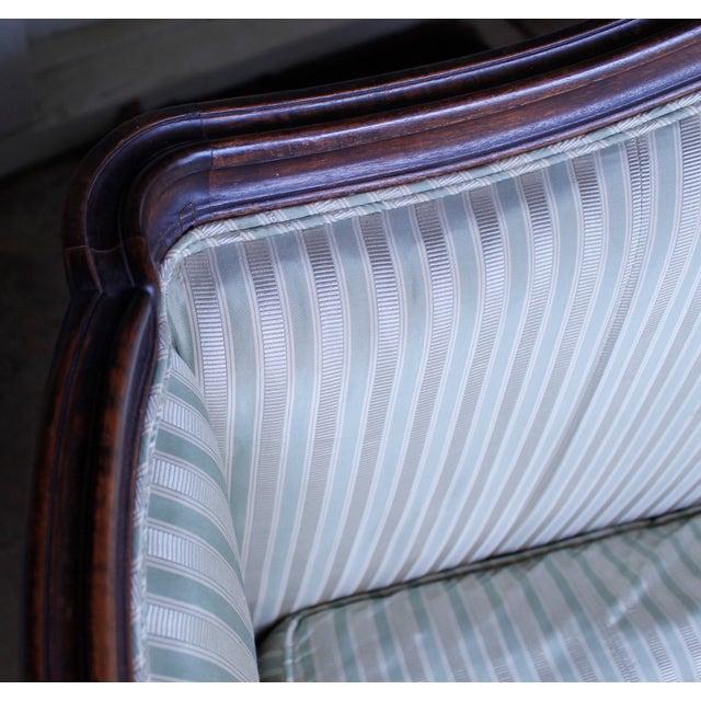 Italian Louis XV Style Walnut Sofa For Sale - Image 12 of 13