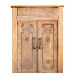 Balinese Teak Entrance Door For Sale