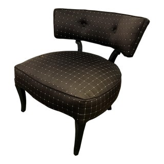 Billy Haines Style Slipper Chair