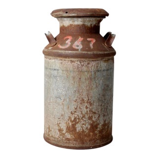 Antique Milk Can For Sale