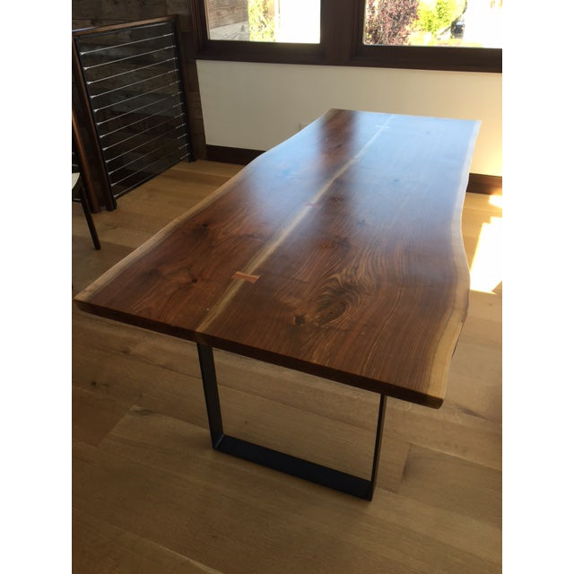 Room & Board Slab Dining Table - Image 2 of 5