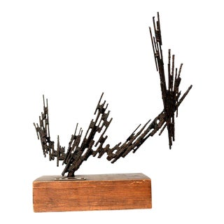 1977 Stanyo Kaminsky Brutalist Sculpture For Sale