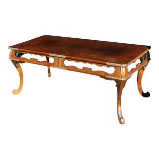 19th Century Japanese Meji Mrs Armour Bought From Richard Gump Coffee Table For Sale