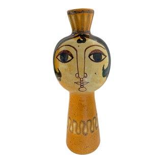 Mid-Century Spanish Modern Figural Vase by Alfaraz For Sale