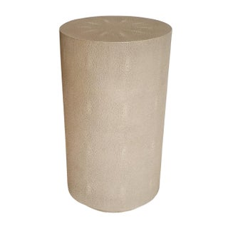Maison 55 Ayden Faux Shagreen Accent Table For Sale