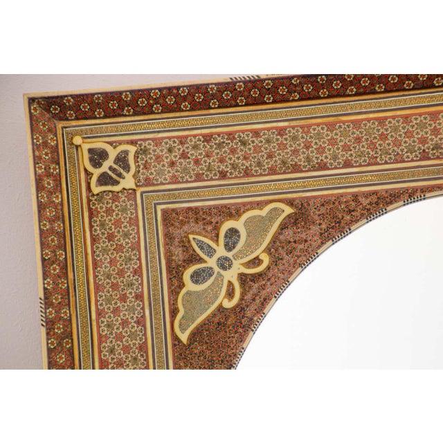 Middle Eastern Moorish-Style Sadeli Mosaic Mirror For Sale - Image 10 of 13
