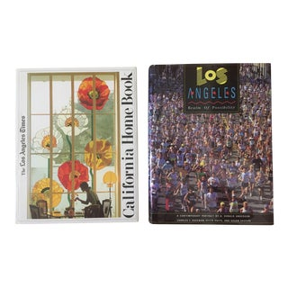 Los Angeles Coffee Table Books - A Pair