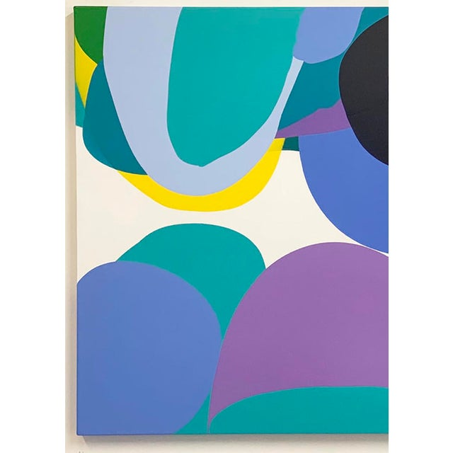 Abstract painter Carolanna Parlato's intensely colored canvases convey a vivid tension between the plasticity of her...