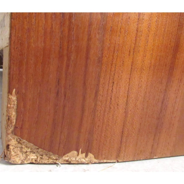 Brown Mid-Century Modern Teak Gentleman's Chest For Sale - Image 8 of 11