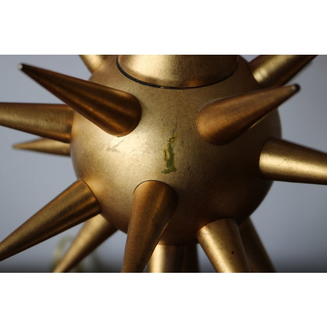 Mid-Century Modern Frederic Cooper Sputnik Lamp - Image 5 of 5