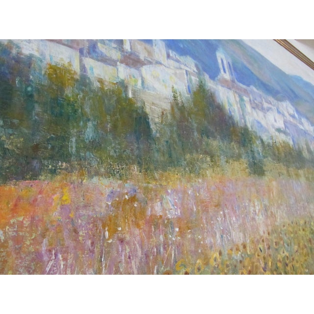 Tuscan Landscape Oil by Anton Sipos - Image 6 of 7