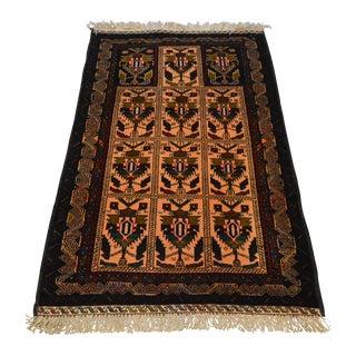 """Afghan Traditional Handmade Rug - 2'10"""" x 4'9"""""""