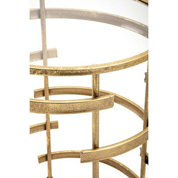 Gold Side Tables - A Pair - Image 4 of 5
