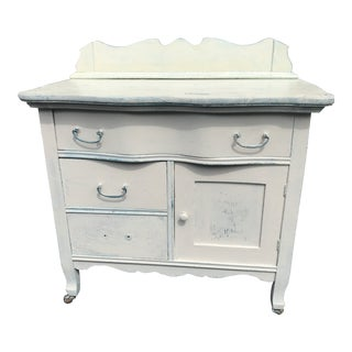 19th Century Shabby Chic Style Distressed Pantry For Sale