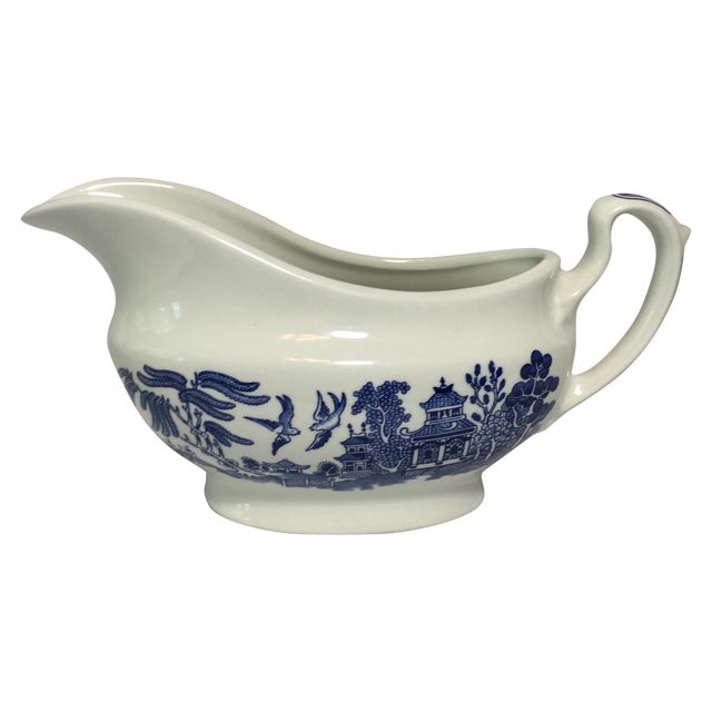 Blue Willow Gravy Boat - Image 1 of 4