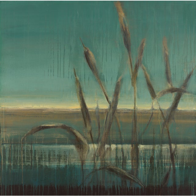 "Terri Burris ""Cattails"" Original Painting - Image 1 of 2"