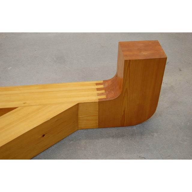 Brown Sculptural Coffee Table by Jennie Lea Knight For Sale - Image 8 of 10