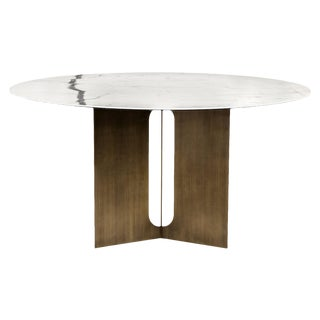 Interlude Home Pierre Dining Table - Bronze For Sale