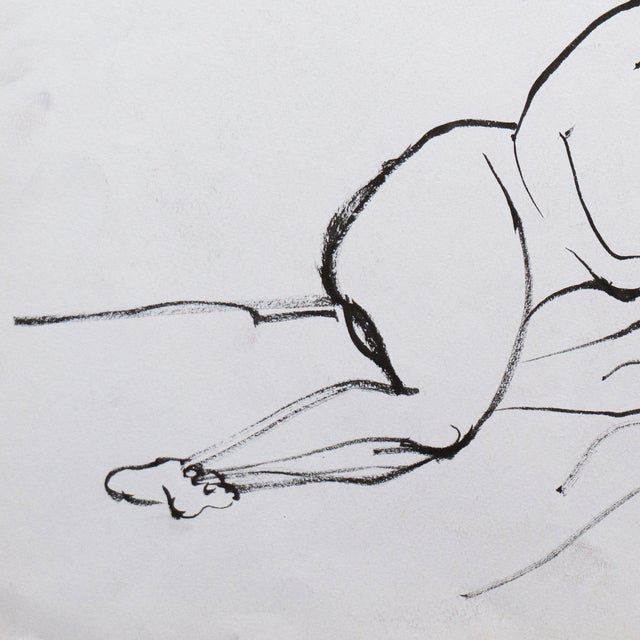 Reclining Nude by Michael Decker - Image 3 of 4